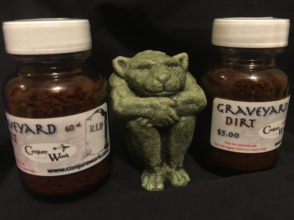 Graveyard Dirt in Special Items at Conjure Work, conjurework.com